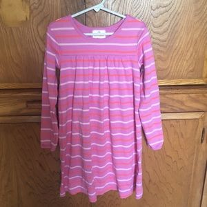 Hanna Andersson Pink Striped Dress